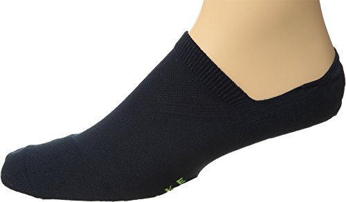 (Falke Men's Cool Kick Cotton Blend Invisible Socks, Marine, Blue, 39-41)