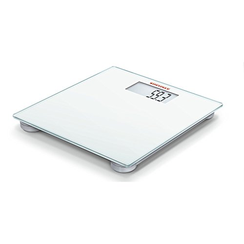 Soehnle Multi Weight Personal Digital Glass Bathroom Scale, White