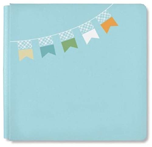 Creative Memories 12x12 Coverset Album (Sky Blue Little Lamb Boy)
