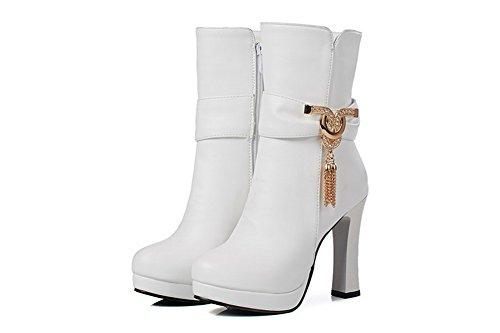 Zeppa 35 Sandali Bianco white Con Donna Abl09684 Eu Balamasaabl09684 BETwq1w