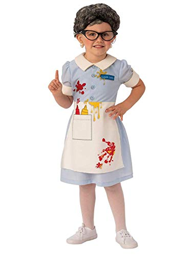 Rubie's Opus Collection Child's Lunch Lady Costume,