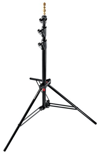 Manfrotto 1005BAC-3 9-Feet Alu Ranker Stand AC with 3 Section and 2 Risers, 3-Pack (Black) by Manfrotto
