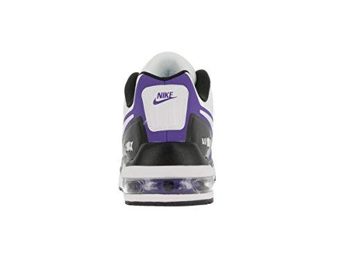 Nike hombre Air Max Ltd 3Mod Running Shoe White/White/Black/Prsn Violet