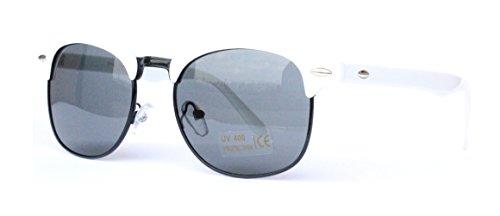 V16 In stile retrò Summer Sunglasses bianca collezione 1298 1960 vintage Nuova Angels Tanzwqp