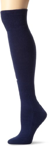 adidas Field II Sock, New Navy/White, X-Small (Youth Shoe Size 9-1/ Sock Size (One Youth Socks)