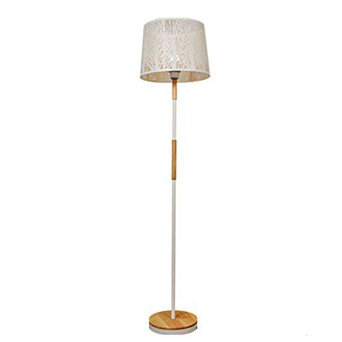 Lámpara de pie MMM Madera Maciza del Norte de Europa Lámpara ...