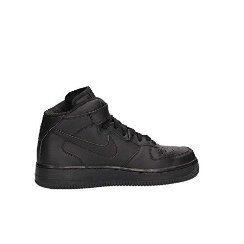 1 Zapatillas Mid GS de Nike Force Black Niños Air Baloncesto FqwEXX