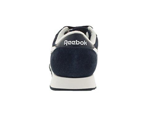 Zapato Reebok Classic Nylon R13 Navy/White/Silver