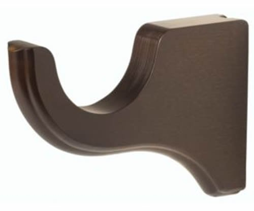 Kirsch Wood Trends Classics 6'' Return Bracket for 3'' pole, Unfinished (MPN# 59133091)