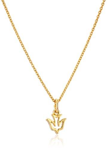 Small Open Dove Pendant Necklace, 14