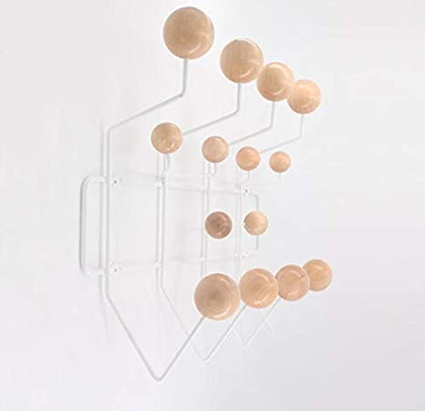 Amazon.com: Shisedeco - Perchero de pared con bolas de ...