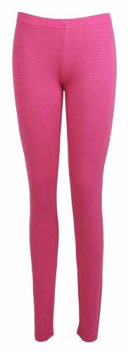 donna vita pantaloni Leggings unita tinta Da Full elasticizzato lunghezza rosso ciliegia elasticizzata Skinny nuovo donna da gnW74dR