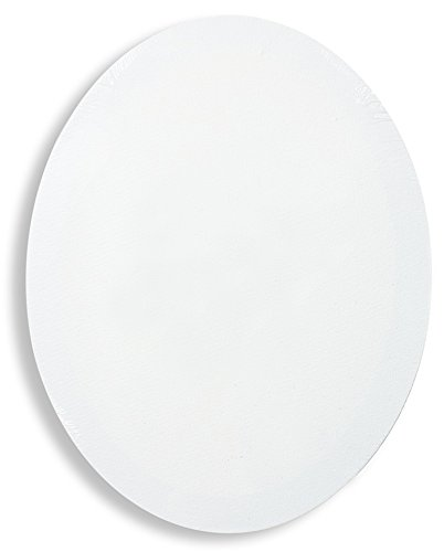 Fredrix Oval Stretched Canvas 9 in. x 12 in. each