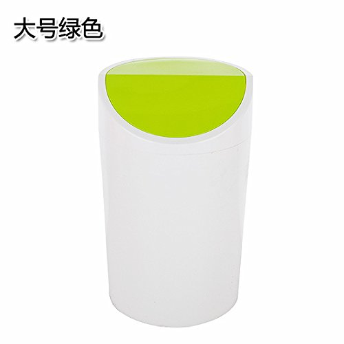Dustbins Xiuxiutian The plastic cover of the national health-kitchen dustbin 36.520cm, green