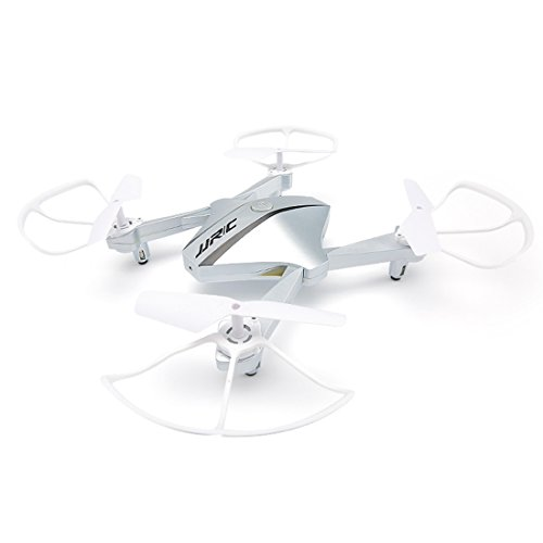 JJRC HD Camera Drone Diamond Shaped Foldable WIFI Aerial Camera H44 Silver by JJRC