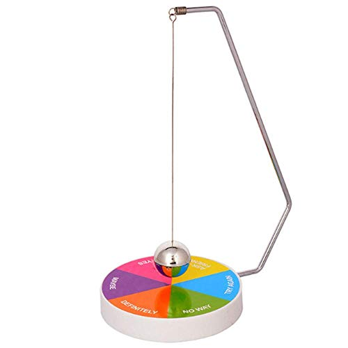 - Lependor Creative Magnetic Decision Maker Ball Swing Pendulum Toy Office Desk Decoration Colorful