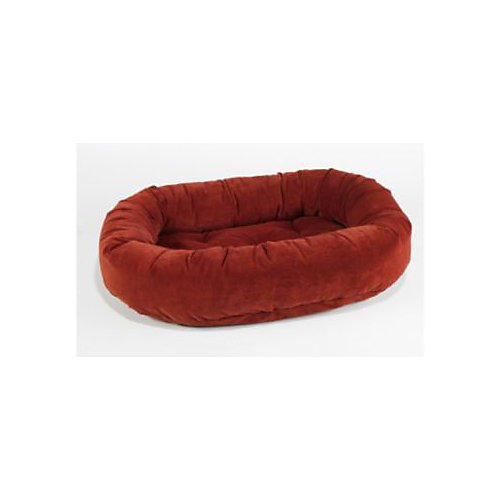Dog Donut Bed Luxury (Bowsers Salsa Style Donut Dog Bed XL Pecan)