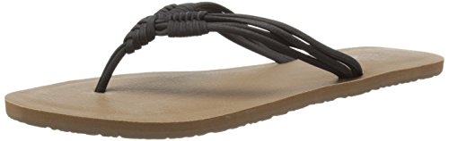 Black Women'S Fun' Black Sandal Volcom Ft8PwRWq