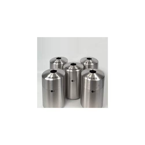 - OKSLO Bottles and cans label for 39 gallon receptacle