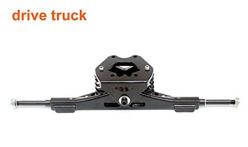 罰表面組み合わせオフロードボードロングボードトラック山ロングボードコンポーネント11インチトラック8