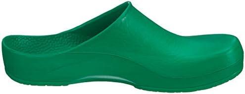 67050-45 werkschoen PU clogs KLASSIK BIRKI antistatisch, groen, maat 45