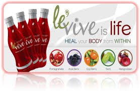 4 Bottles Le'Vive Red by Ardyss