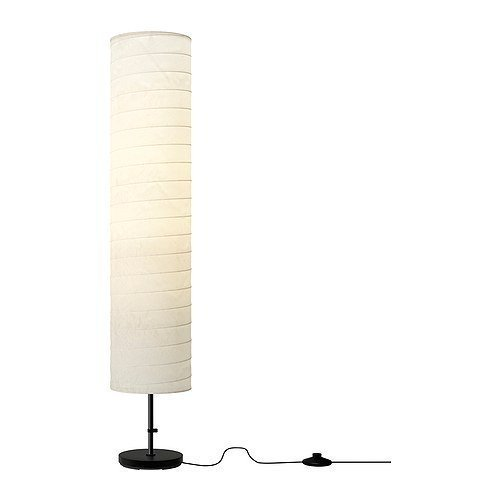 Ikea Floor Lamp, 46-inch, White (White, 2) by Ikea