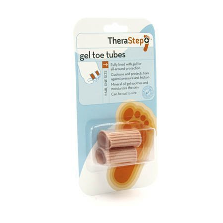 Silipos Therastep Gel Toe Tubes - Model 6208 - Pkg of 2