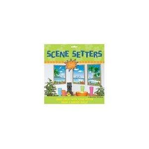 Tropical Scene Setters - Window View 33 1/2in Scene Setters