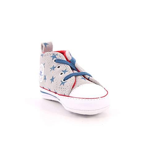 Taylor Blue Hi Multicolore Grey White Chuck ash Converse Ctas First Star Court 095 Pantofole Bimbo wAg1xq57