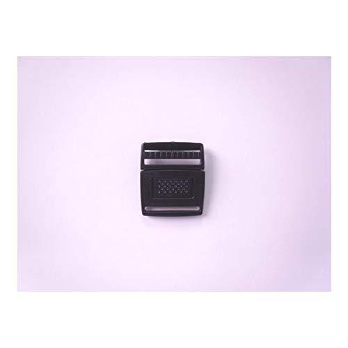 100個セット NIFCO ニフコ FR20 プラスチック バックル 黒 20mm巾用 ベルトの長さ調節などに 100個セット  B07K26R8PC