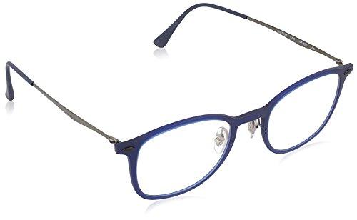 Ray Ban Optical Montures de lunettes RX7051 Matte Black, 47mm 5451: Matte Dark Blue