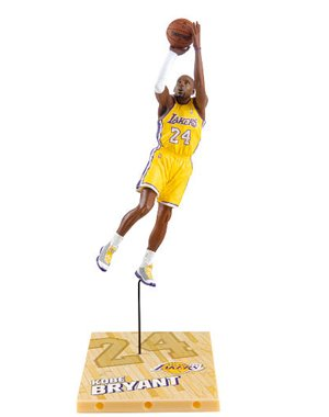 McFarlane Toys NBA Series 18 - Kobe Bryant 5 Action -