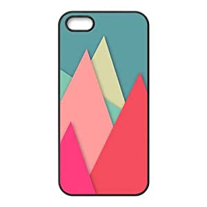 Colorful Triangle Fashion Personalized Phone Case For Iphone ipod touch4