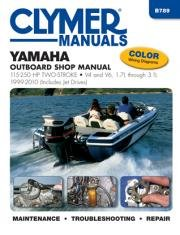 Yamaha Jet Drives - Yamaha 115-250 hp Two-Stroke Outboards 1999-2010 (Includes Jet Drives) (Clymer Marine)