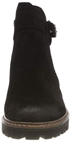 Antic Botas 002 Premio black Chelsea 25455 Marco 21 Negro Para Tozzi Mujer IOwnqv
