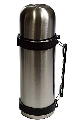 Best Stainless Steel Coffee Thermos,BPA Free,NEW Triple Wall Insulated,Slim Travel Size,Drink Cup Top,NEW Easy Clean Screw Top Lid,40 Ounce