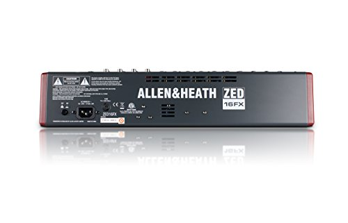 Allen & Heath ZED-16FX 16-Channel Multi-Purpose USB Mixer with FX for Live Sound and Recording by Allen & Heath (Image #5)