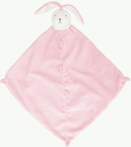 Angel Dear Blankie, Pink Bunny (Angels Blanket Baby Pink)