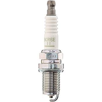 NGK V-Power Spark Plug 2756 BKR6E-11 for HS250h xB Outback 2.5i Camry Corolla Reach 19mm Gap: .043 1.1mm Resistor Value 5K Ohm Cast Iron 18-25.3 lb ft pack of 4 ft. Aluminum 18-21.6 lb