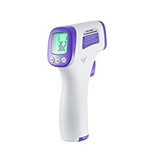 Thermometer for Adults, No Touch Forehead Infrared Medical Thermometers for Fever, Digital Baby Thermometer with Instant Readings and Used for Kids, Indoor, Outdoor Use