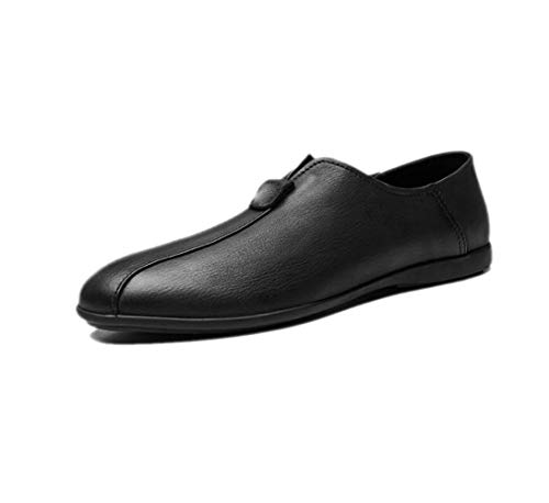 zmlsc Scarpe Business Punta Primavera Ribbon Soft Inverno Autunno A Black Sport Uomo Tela da Casual Estate Round Colore gUwgH