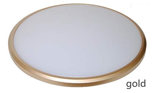 シーリングライトLEDランプ直径38cmランプ本体ABS材料鋳造成形シール防塵ハードPVCプレート屋内LEDライト LED 照明ライト (Color : 3) B07Q2YDFBS 3