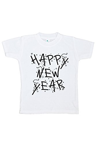 Happy New Year Eve (7 ate 9 Apparel Youth Happy New Year's Eve Medium T-Shirt)