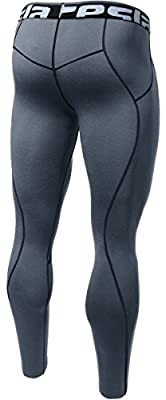 Tesla Men's Compression Pants Baselayer Cool Dry Sports Tights Leggings P16