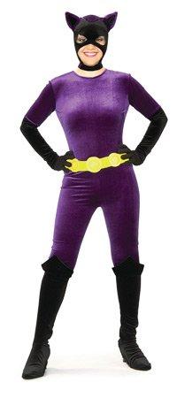 Rubie's Costume Co Women's Batman DC Style Guide Gotham Girls Catwoman, Purple, X-Small - Halloween Gotham Girls Batgirl Costumes