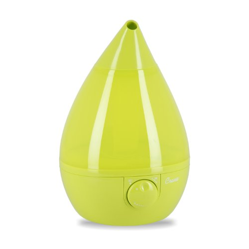 Crane Drop Shape Ultrasonic Cool Mist Humidifier with 2.3 Gallon output per day - Green (Cranes Ultrasonic Humidifier compare prices)