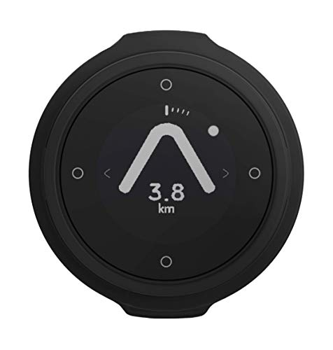 Beeline - Smart Compass Navigation for Bikes - Bluetooth GPS Bicycle Computer, Waterproof and Wireless - Charcoal Grey
