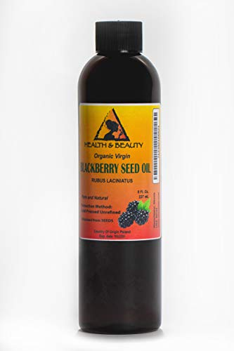 Blackberry Seed Oil Unrefined Organic Virgin Raw Cold Presse