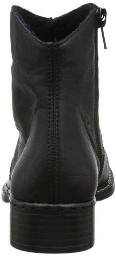 Rieker 73461 - Botines de material sintético mujer negro - Schwarz (schwarz 00)